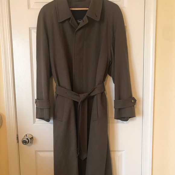 Burberry Other - Men's Burberry Wool Coat with Wool Zip Out Lining